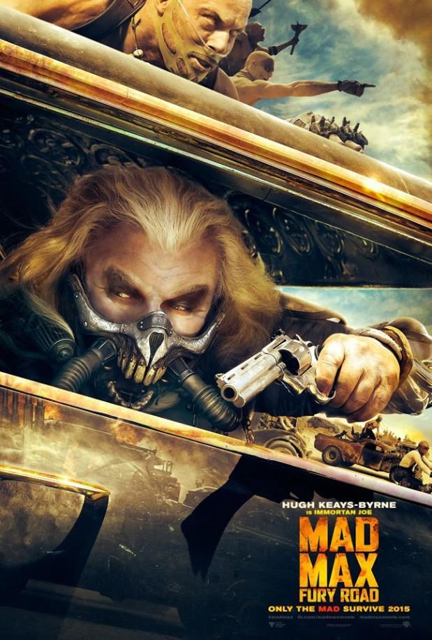 Okay, I couldn't help it. I saw Mad Max: Fury Road again