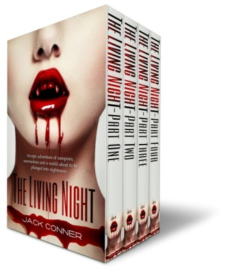 The Living Night: Box Set, Volumes 1-4 (Entire Series)