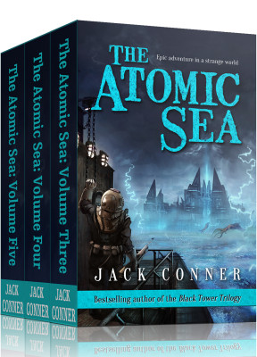 The Atomic Sea: Omnibus of Volumes 3, 4 and 5